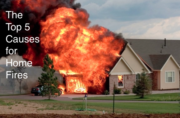 The top 5 causes for home fires