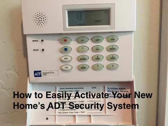 how to easily activate your new home s adt security system. Black Bedroom Furniture Sets. Home Design Ideas