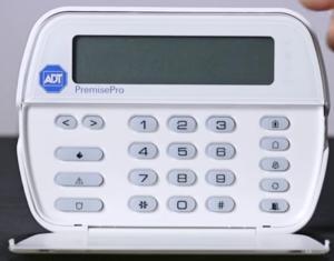 ADT premise pro keypad