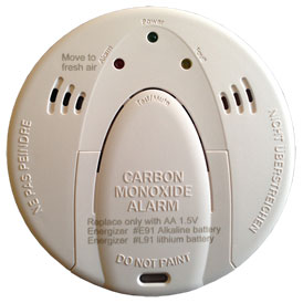 Qolsys Carbon Monoxide Detector