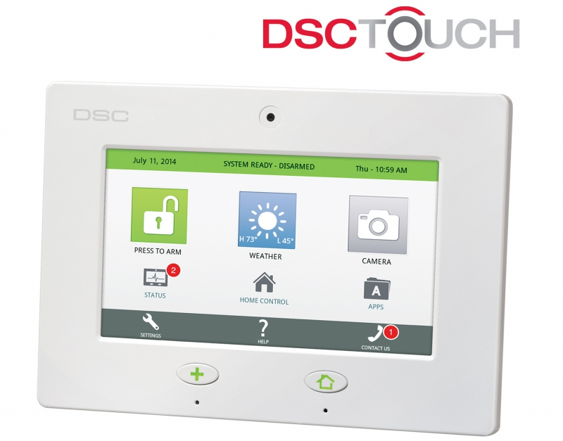 Dsc Touch Cellular Kit Zions Security Alarms Adt