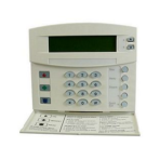 GE Interlogix Alpha Keypad