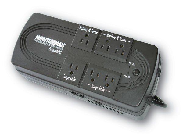 Back UP Power Strip 600VA 300W