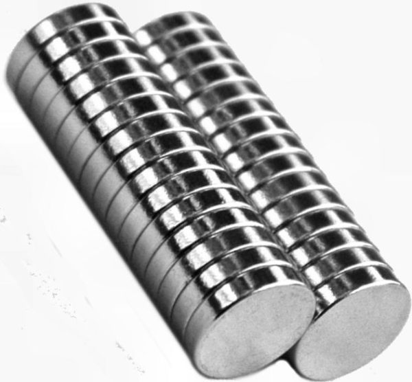 Small Cylinder Rare Earth Magnet
