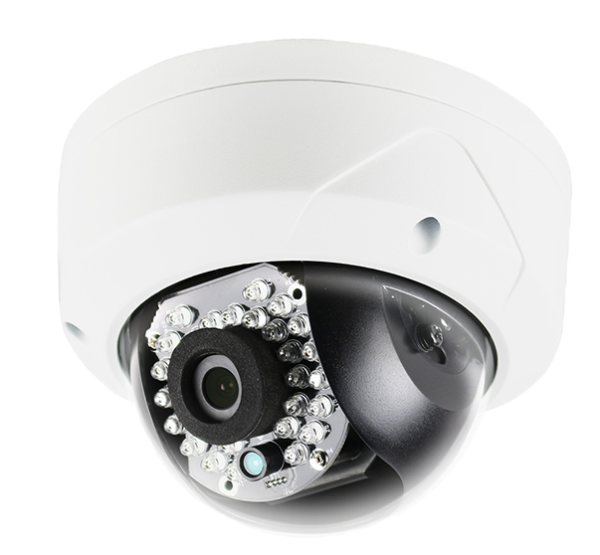 2MP IR Dome Camera 2.8mm with True WDR