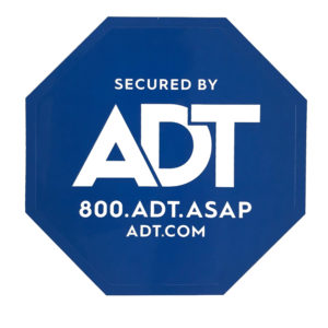 ADT Window Sticker