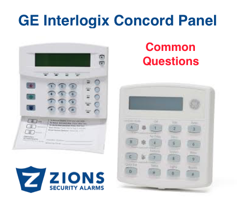GE Interlogix Concord Panel: Frequently Asked Questions - Zions