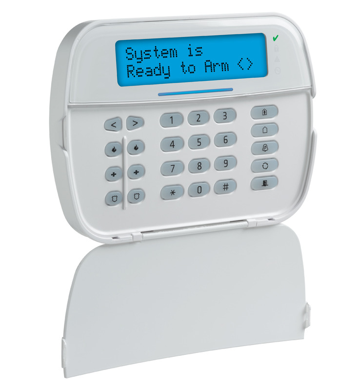 dsc neo wireless alpha prox keypad with voice zions security alarms adt a. Black Bedroom Furniture Sets. Home Design Ideas
