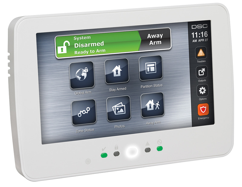 Adt Home Security Systems >> DSC Neo Touchscreen Keypad with Prox - Zions Security Alarms - ADT Authorized Dealer
