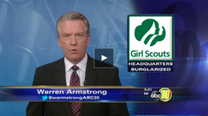 Security System in Fresno girl scouts