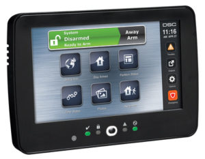DSC Neo Touchscreen Keypad with Prox