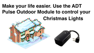 Control Outdoor Christmas Lights with ADT Pulse Outdoor Light Module