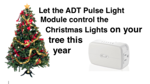 Control your Christmas tree lights with ADT Pulse lamp module