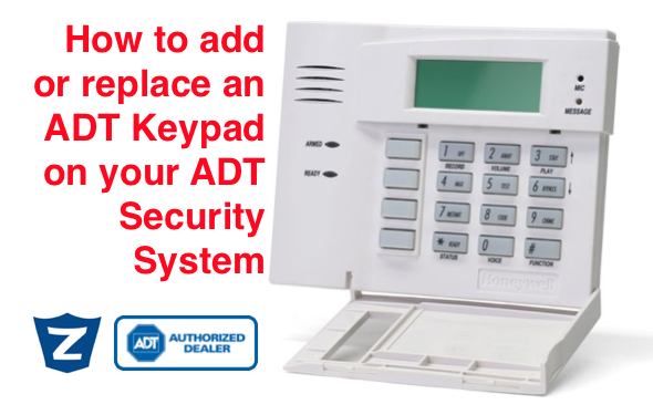 How Do I Add Another Keypad to My ADT Security System ... Adt Safewatch Pro Wiring Diagram on
