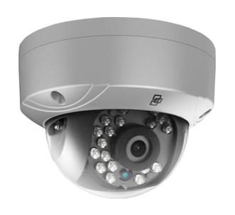 720p Silver HD-TVI Dome Camera