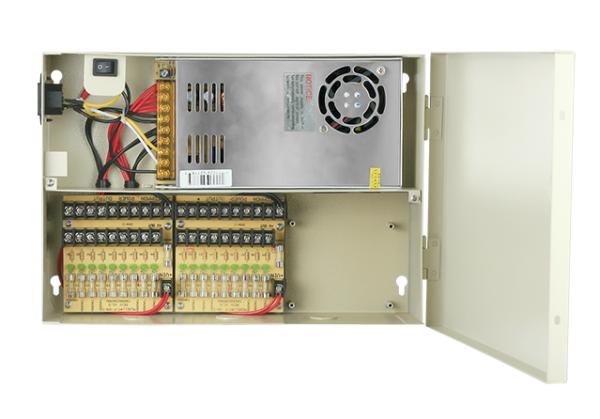Power Supply Box 12V 32Amp 27 Port