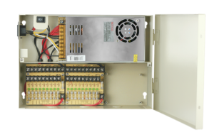 Power Supply Box 12V 32Amp 18 Port