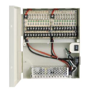 Power Supply Box 12V 10Amp 18 Port
