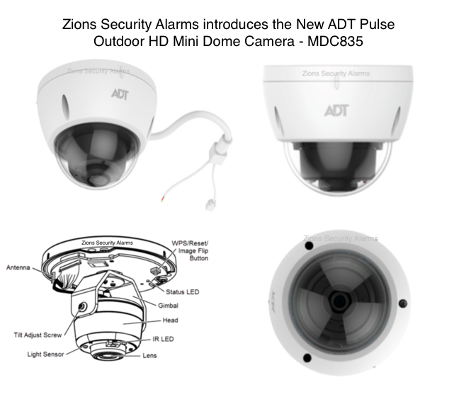 ADT Launches New ADT Pulse Dome Camera MDC835