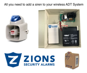 ADT Wireless Outdoor Siren Kit $250-450