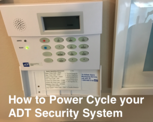 How to Power Cycle My ADT System