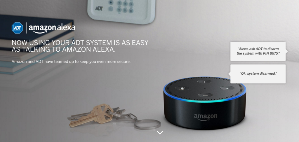 ADT and Amazon Release the ADT Pulse Skill for Echo and Echo Dot