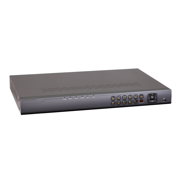 4 Channel Professional NVR for IP Security Cameras in HD