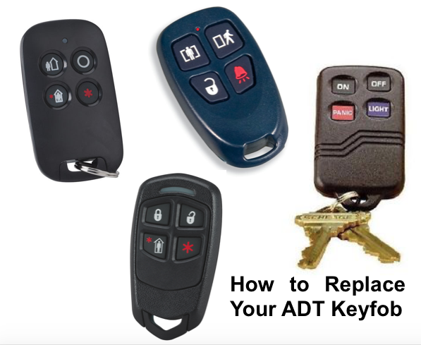 how to replace your adt keyfob