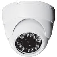 800TVL Vandal Dome Camera 3.6mm white