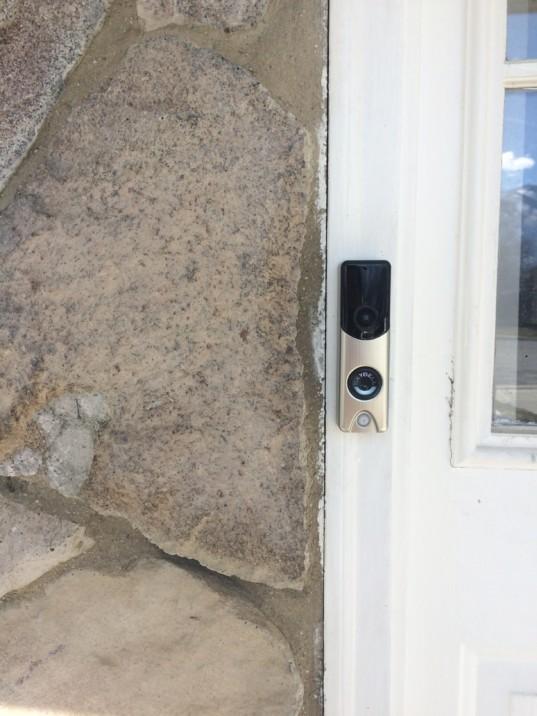Alarm Com Slim Line Doorbell Camera Wi Fi 720p