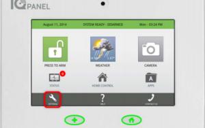 Qolsys IQ Panel Backup Battery
