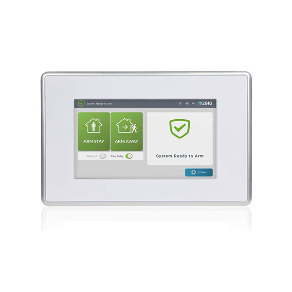 2GIG Wireless Secondary Touchscreen Keypad