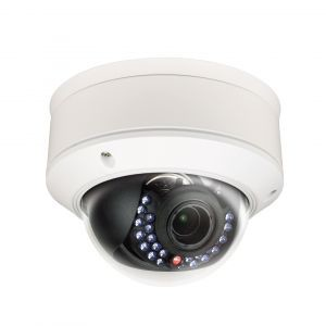 IP Vandal Proof Dome Camera