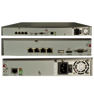 four channel nvr