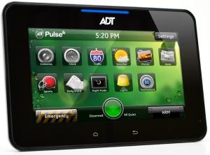 ADT Pulse High-Definition Video Touchscreen Keypad HSS301-1ADNAS