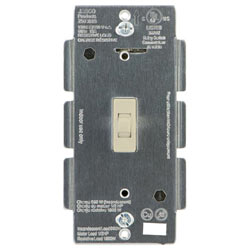 ADT Pulse Jasco Toggle In-wall On/Off Light Switch 45760 - Light Almond
