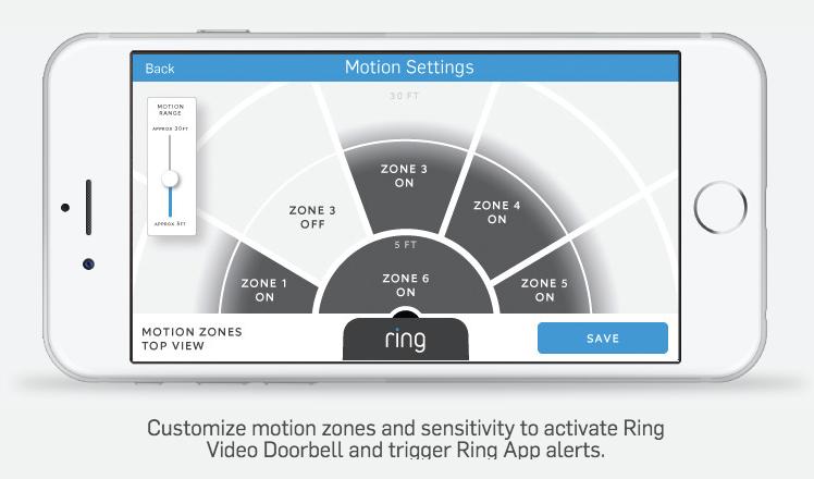 ring doorbell motion detection