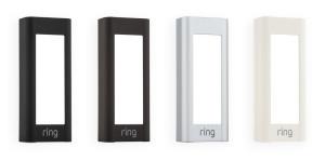 Ring Video Pro Doorbell Faceplates