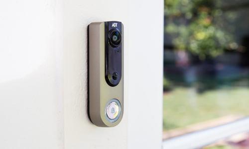 adt doorbell camera CES 2018