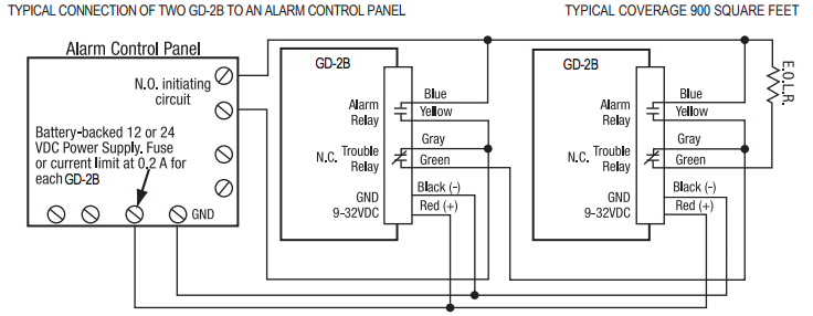 Natural Gas Detector Wiring Diagram