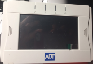 ADT Color Touchscreen Keypad