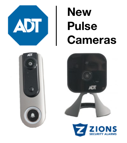 New and Improved Indoor ADT Pulse Camera and ADT Pulse Doorbell Camera