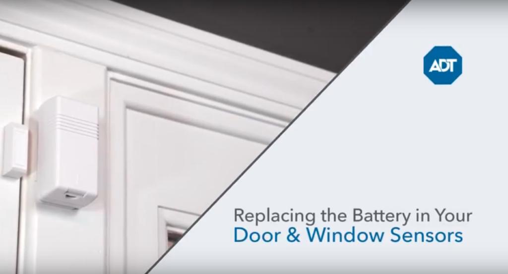 How to Replace Your ADT Door & Window Sensor Batteries