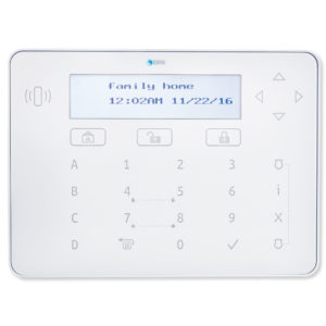 2GIG Vario LCD Keypad with Prox Reader