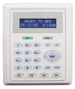 Elk Security Keypad