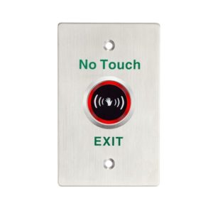 Touchless Sensor Exit Button With LED