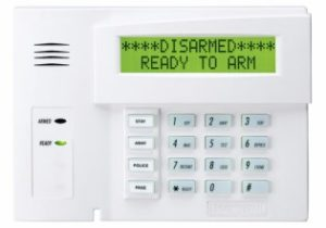 ADT Safewatch Pro 3000 with Custom Keypad