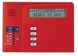 Commercial Fire Keypad