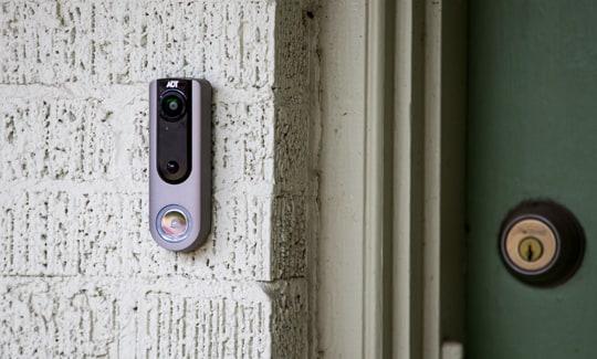 Adt Pulse Doorbell Camera Dbc835 Zions Security Adt Dealer