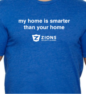 My home is Smarter than your home shirt